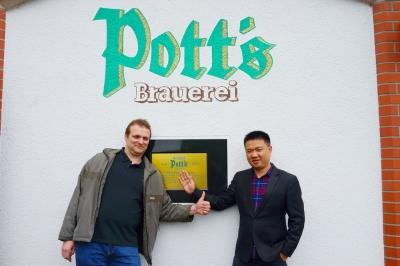 Pott's Brauerei,Eine kleiner Besuch einer Brauerei gehört ebenso wie klassisches Kulturprogramm auf der Agenda